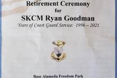 SKCM Ryan Goodman Retirement Pictures